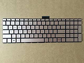 New For HP 15-bs007ds 15-bs008cy 15-bs008ds 15-bs009cy 15-bs009ds US keyboard Gold color