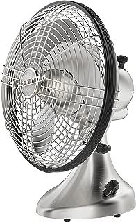Vornado Silver Swan S Small Room Oscillating Fan, Brushed Nickel