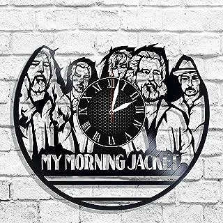 Ya I Moya Shlapa My Morning Jacket Rock Band Design Wall Clock, My Morning Jacket Wall Poster