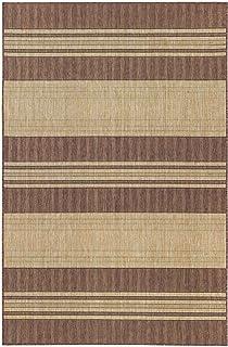 Liora Manne CRES8843519 Indoor/Outdoor Rug, Brown