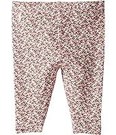 Ralph Lauren Baby Floral Stretch Cotton Leggings (Infant)