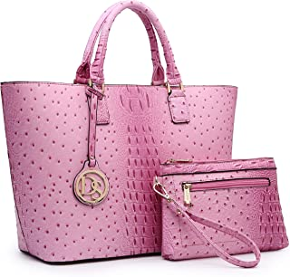 Best pink ostrich leather Reviews