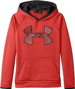Armour Fleece Big Logo Hoodie (Big Kids)
