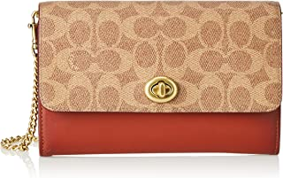 Coach Crossbody for Women-Monogram/Brown