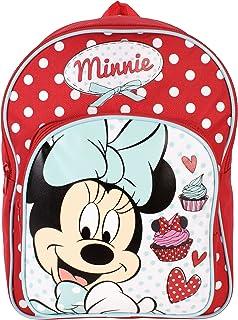Mochila infantil Minnie Mouse Arch 32 cm, 6,5 L, color rojo