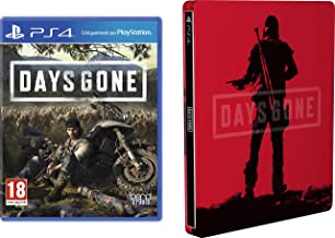 Days Gone with Limited Edition SteelBook (Exclusive to Amazon.co.uk) (PS4)