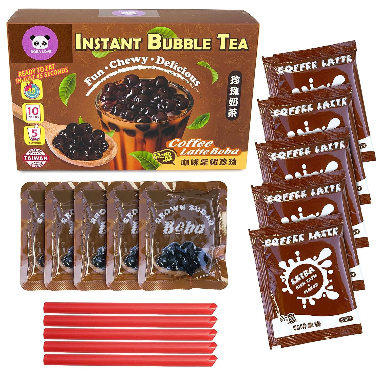 BOBA LOVE Discount is also underway Instant Bubble Milk Tea w Boba Sugar Pearls Brown Kit shop