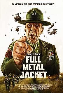 NG Full Metal Jacket Movie Poster 29x44 R Lee Ermey USMC Military Gunny