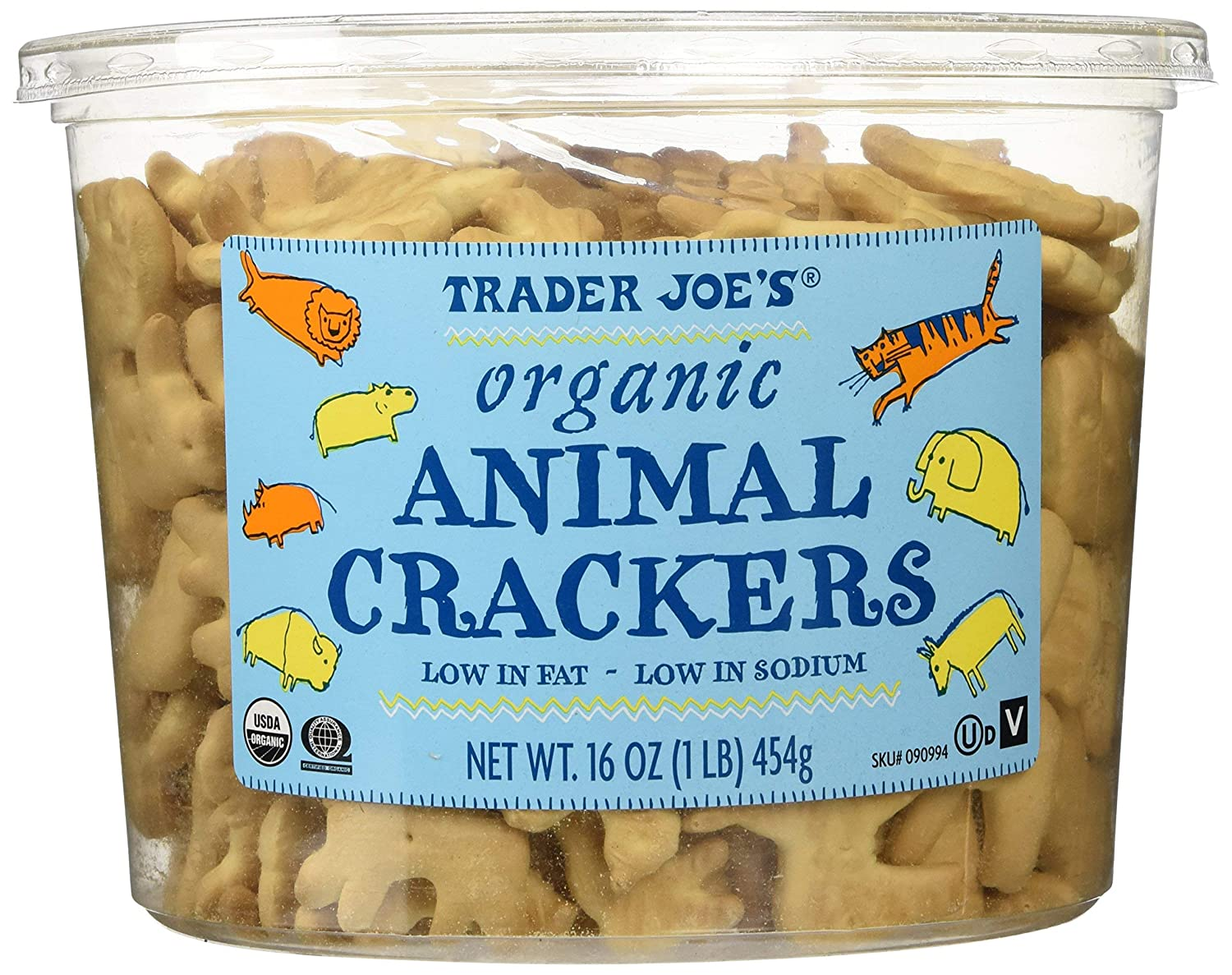 Trader Joes Organic Animal 2 16 Crackers Oz.-set Department store Special price for a limited time