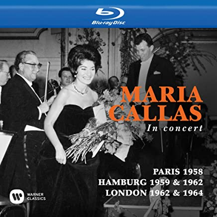 Maria Callas in Concert (Paris,Hamburg,London)