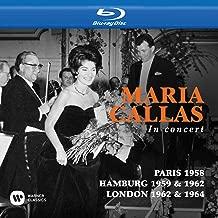 Maria Callas in Concert (Paris,Hamburg,London)