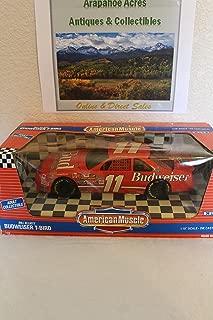 ERTL #7358 American Muscle Nascar Bill Elliott #11 Budweiser T-bird 1/18 Scale Diecast