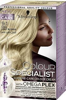 Schwarzkopf Colour Specialist Supreme-Care Colour Cream, 9.1 Light Blonde