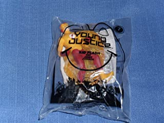 2011 McDonalds Happy Meal . . . Young Justice Kid Flash Toy . . . #7
