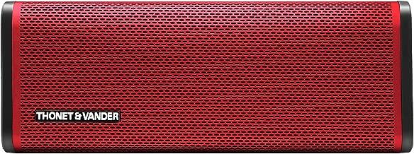Thonet and Vander Frei Portable Wireless Bluetooth Speaker with Premium Stereo Sound. Enhanced Bass