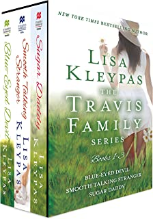 The Travis Family Series, Books 1-3: Blue-Eyed Devil, Smooth Taking Stranger and Sugar Daddy