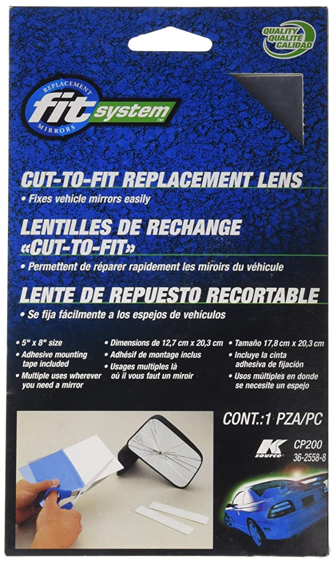 Fit System CP200 Replacement Cut-to-fit Glass