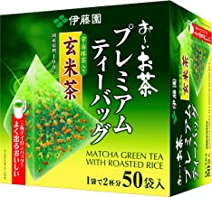 genmaicha with matcha tea