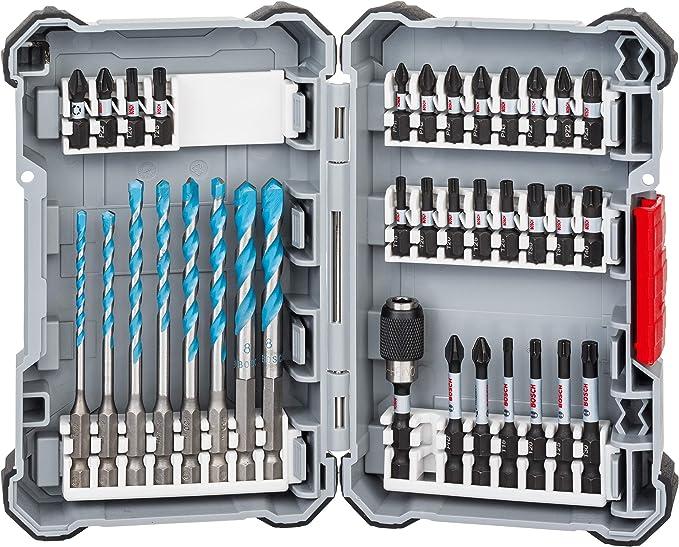 432 opinioni per Bosch Professional Set da 35 Pezzi di Punte e Bit di Avvitamento Multi