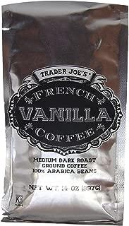 Trader Joe's French Vanilla Coffee (Pack of 2)