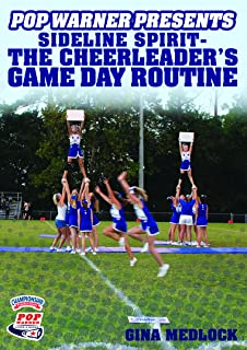 Championship Productions Pop Warner Presents Sideline Spirit - The Cheerleader's Game Day Routine DVD