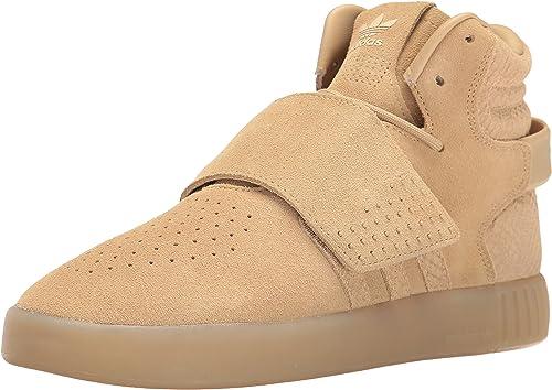 Adidas Originals Wohommes Wohommes Tubular Invader Strap Fashion FonctionneHommest chaussures, Khaki Linen S, (8 M US)  vente en ligne
