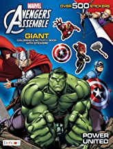 Bendon Avengers Assemble Giant Sticker and Activity Book Playset