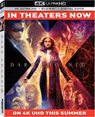 X-Men: Dark Phoenix debuts on Digital Sept. 3 and on 4K Ultra HD, Blu-ray and DVD Sept. 17 from Fox