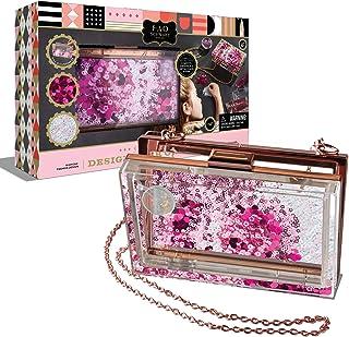 FAO Schwarz Customizable Purse Creation Set, DIY Design and Decorate Purse Hand Bag, 4 Unique Ingredients for Creativity, ...