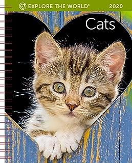 Cats Weekly Engagement Calendar 2020 Planner Personal Journal Organizer Scheduler 6.5