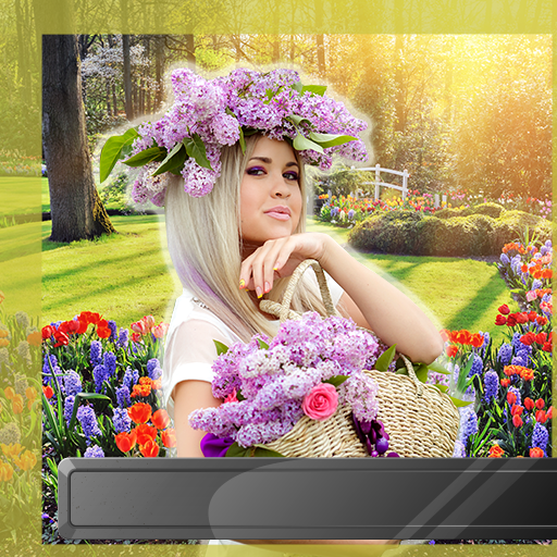 Nuevos marcos de fotos de jardín