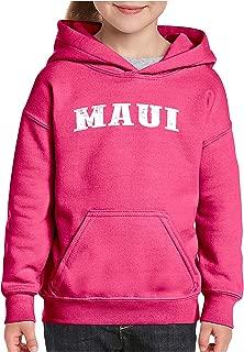 Hawaii Maui Kauai Oahu Waikiki Traveler Gift Unisex Hoodie for Girls and Boys Youth Sweatshirt