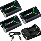 Smatree Rechargeable Battery Compatible for Xbox One/Xbox One S/Xbox One X/Xbox One Elite Wireless Controller