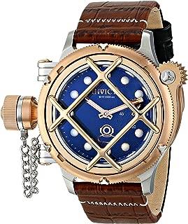 Men's 16210 Russian Diver Analog Display Mechanical Hand Wind Brown Watch