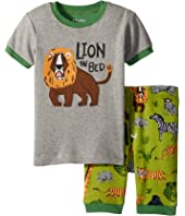 Safari Adventure Applique Shorts Set (Toddler/Little Kids/Big Kids)