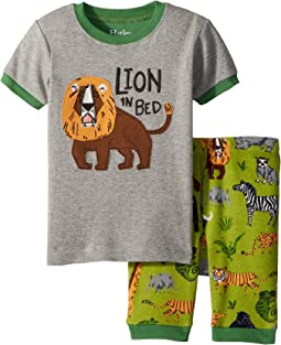 Safari Adventure Applique Shorts Set (Toddler/Little Kids/Big Kids)
