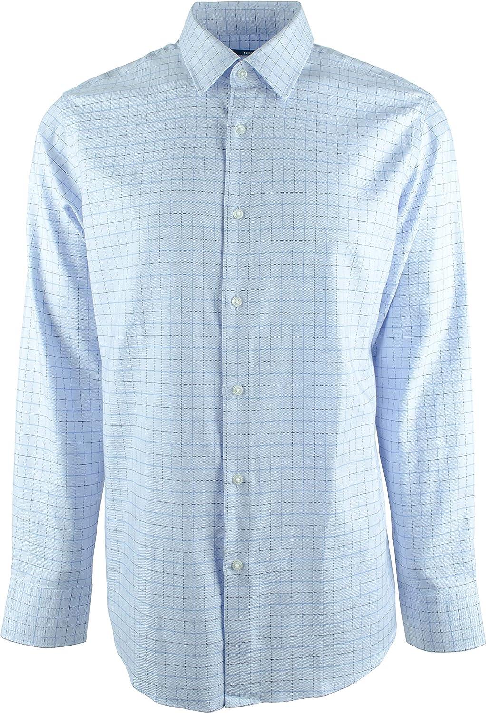 Hugo Boss Men's Enzo Regular Fit Long Sleeve Shirt