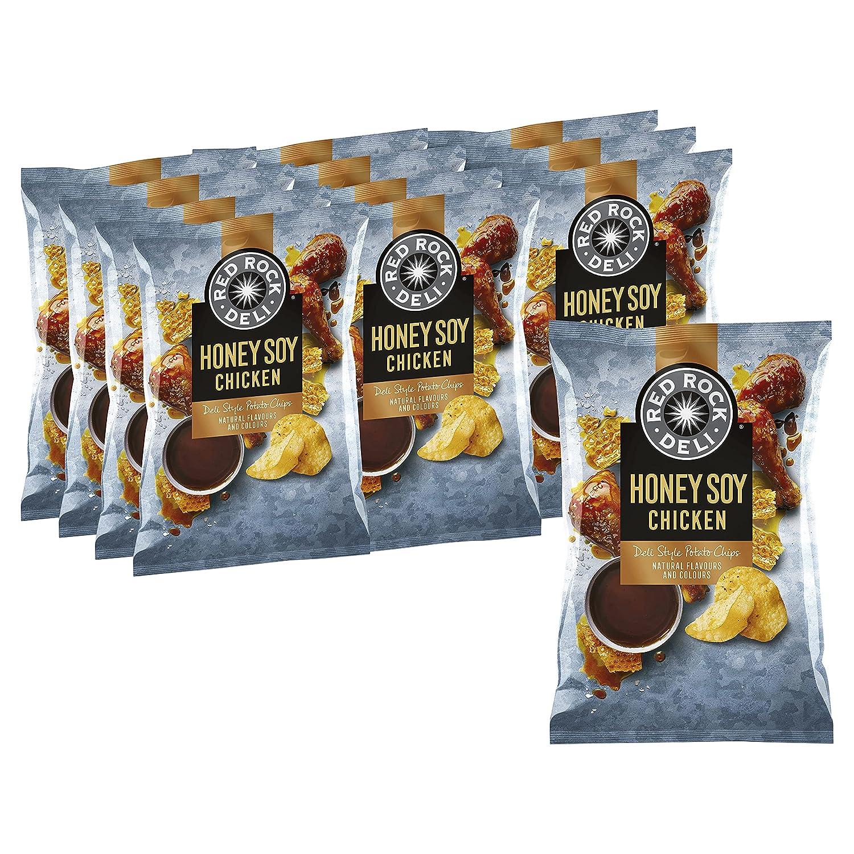 Red Rock Deli Honey Soy Chicken x 165 Super sale Grams Finally popular brand Potato Chips 12