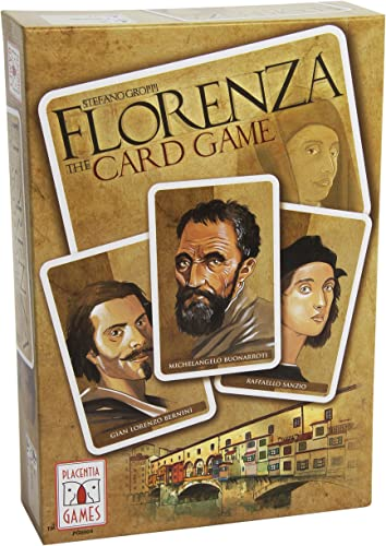 Placentia Games PO006 - Florenza  The Card Game