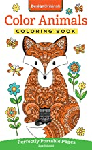 Color Animals Coloring Book: Perfectly Portable Pages (On-the-Go! Coloring Book) (Design Originals) Extra-Thick High-Quality Perforated Pages in Convenient 5×8 Size Easy to Take Along Everywhere Book PDF
