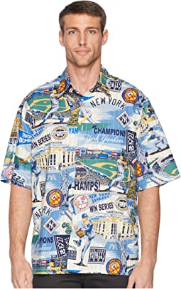 New York Yankees Classic Fit Hawaiian Shirt