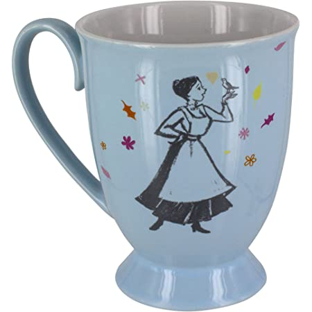 Paladone Mary Poppins - Taza de cerámica, multicolor, 6 x 8 x 12 cm