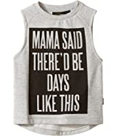 Rock Your Baby - Mama Said Muscle T-Shirt (Toddler/Little Kids/Big Kids)