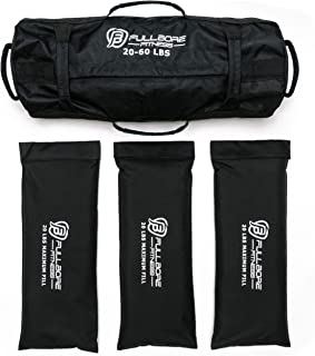 Fullbore Fitness Adjustable Weight Sandbags for Fitness,...