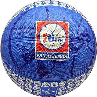 Spalding NBA 费城 76 人队颜色,吉祥物和标志迷你篮球
