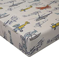 product image for Glenna Jean Crib Sheet, Flying High, Beige, Standard