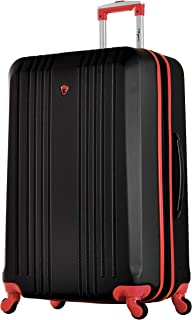 "Olympia Apache Ii 29"" Carry-on Spinner, BLACK+RED, One Size"