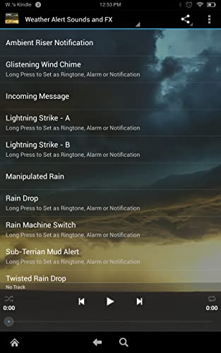 『Epic Rain & Thunder Sounds - with featured ebook: Basic Weather Spotters' Field Guide』の4枚目の画像