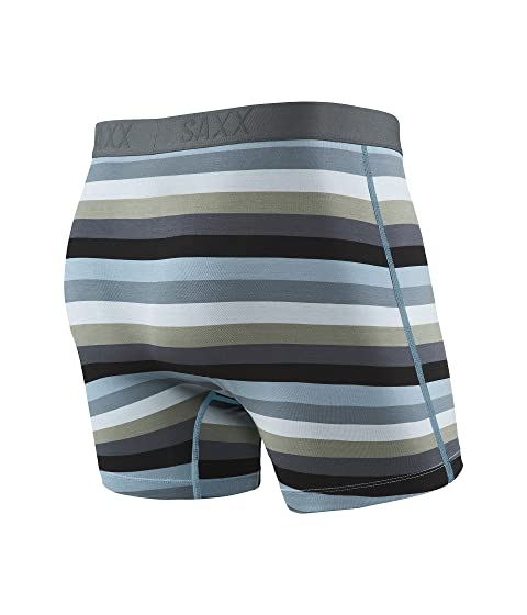 Ultra Fly Boxer Stripe Dark UNDERWEAR Charcoal SAXX R8ZOgPn