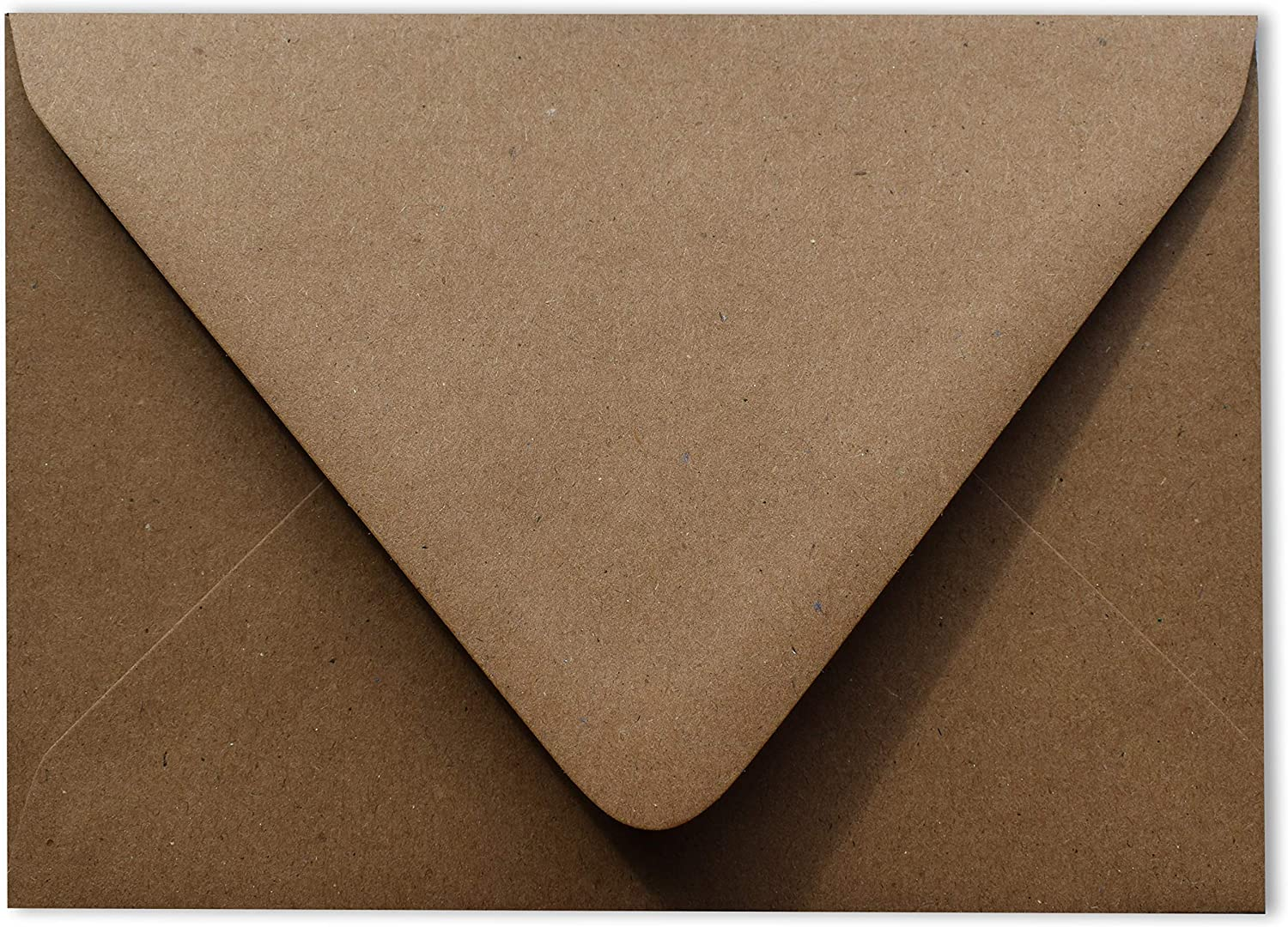 Kraft Grocery Bag 2021 autumn and winter new Brown 50 Boxed Contour -80lb A7 Flap Euro Enve excellence